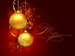 36-Christmas-wallpapers-free-two-golden-christmas-balls-on-red-background-wallpaper